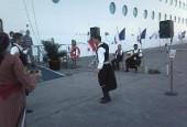 Υποδοχή κρουαζιερόπλοιου MSC Musica